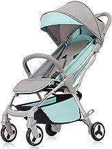 Sillas de paseo Cuatro ruedas plegables de aleación de aluminio cochecitos de moda ultraligero portátil paraguas de bebé carrito de bebé cochecito 0-3 años Sillas ligeras