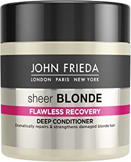 JOHN FRIEDA Sheer Blonde Flawless Recovery Deep Conditioner, 150ml - Treatment for dry and damaged blonde hair