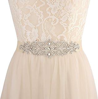 Azaleas Women's Wedding Belt Sashes Bridal Sash Belts for Wedding Ivory One Size ¡