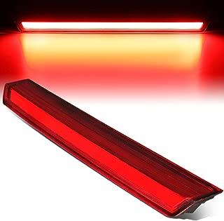 Red Housing 3D LED Bar Third 3rd Tail Brake Light Lamp for Chevy Suburban Tahoe 15-20