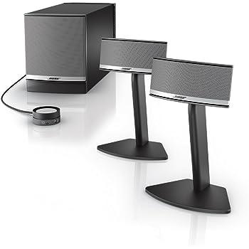 Bose Companion 5 Multimedia Speaker System – Graphite/Silver