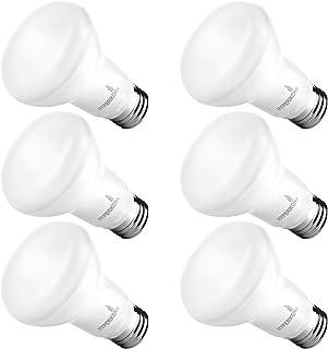 Hyperikon BR20 LED Bulb Dimmable, 7.5W=50W, Wide Flood Light CRI 90+, E26 Base, UL, Energy Star, Soft White, 6 Pack