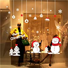 White Snowflakes Window Clings Decal Stickers Christmas Winter Wonderland Decorations Ornaments Party Supplies