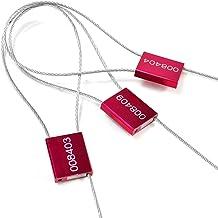 ZhengCheng (R) kabel draad afdichtingen kabel draad Tags veiligheid banden hoge temperatuur weerstand aluminium legering d...