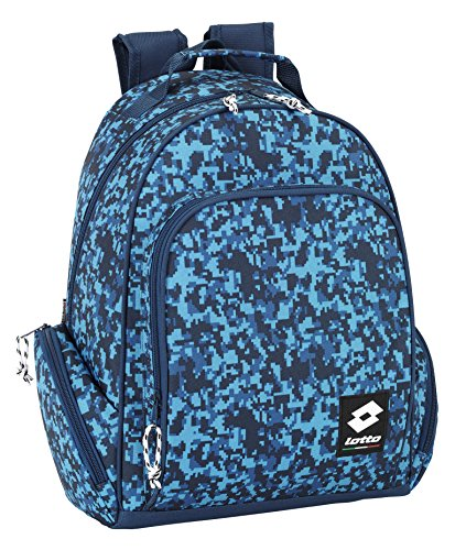 Lotto - Mochila adaptable, 31 x 43 cm, color azul (Safta 641519450)