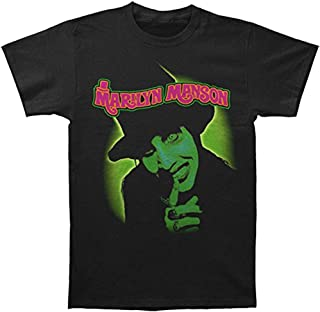 GLOBAL Marilyn Manson Men's Smells Like Children Slim-Fit T-Shirt
