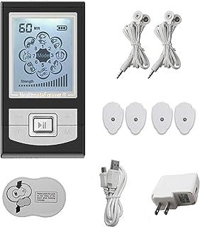 HealthmateForever FDA despejó decenas unidad Nk6Ml (negro) 6 modos Ersonal eléctrico Masajeador muscular gran máquina de la terapia