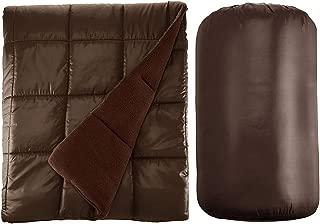 Waterproof Quilted Down Alternative Outdoor Throw Blanket 50
