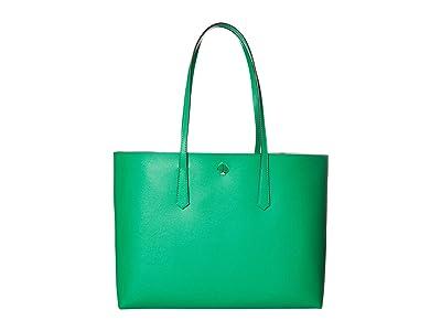 Kate Spade New York Molly Large Tote (Meadow Green) Handbags