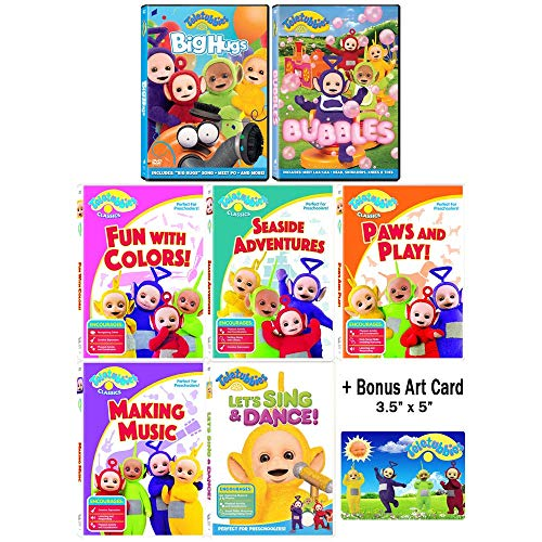 Teletubbies: TV Series - The Sunshine Frolic Collection - 30 Episodes + Special Features + Bonus Art Card