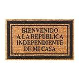 Ikea Felpudo Bienvenidos a la Republica Independiente de mi casa