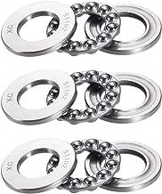 uxcell 51102 Single Direction Thrust Ball Bearings Flat Seat Chromium Steel,15x28x9mm 3pcs