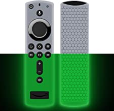 Best Remote Case/Cover for Fire TV Stick 4K,Protective Silicone Holder Lightweight[Anti Slip]ShockProof for Fire TV Cube/Fire TV(3rd Gen)Compatible with All-New 2nd Gen Alexa Voice Remote Control-GlowGreen Reviews