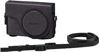 SONY デジタルカメラケース ジャケットケース Cyber-shot DSC-WX350/WX300用 ブラック LCJ-WD/B