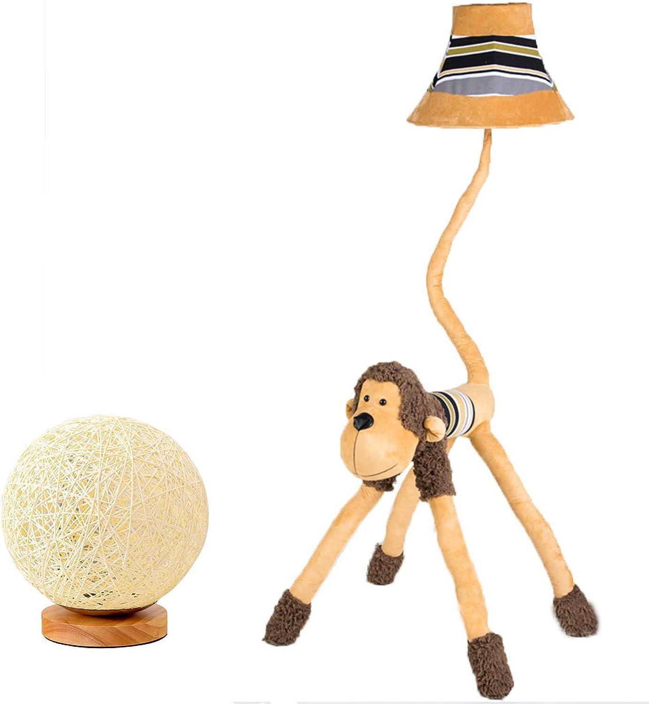 Floor Stand Lights - Affe Plüsch Affe Stehlampe Tischlampe gelb Lion Kissen Wohnzimmer Schlafzimmer Kinderzimmer Tischlampe kreatives Geschenk senden ein Nachtlicht - Design Fixture Lighting