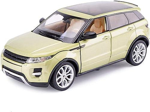 courirWEI Modèle de Voiture 1 24 Jouet de Voiture en Alliage moulé Land Rover Range Rover modèle Simulation Bureau décoration