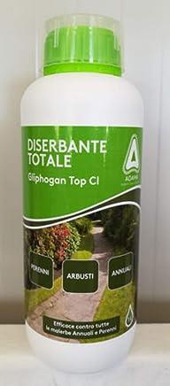 adama DISERBANTE Totale ERBICIDA GLIFOSATE SISTEMICO 500 ML 1 lt (2 x 500 ml)