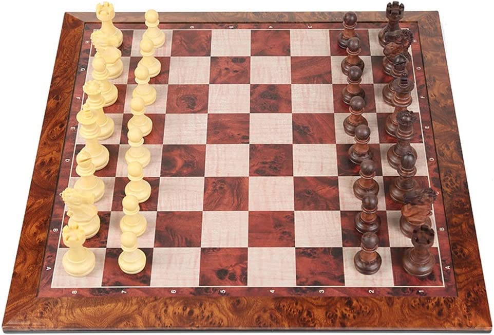 Rapid 2021 rise MKVRS Chess Set Magnetic Pieces Pie Gift