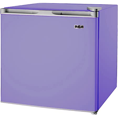 1.6 Cubic Feet Fridge, Compact Mini Refrigerator, Purple