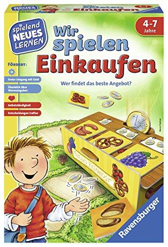Ravensburger 24985 - Wir spielen Einkaufen - Spielen und Lernen für Kinder, Lernspiel für Kinder ab 4-7 Jahren, Spielend Neues Lernen für 2-4 Spieler