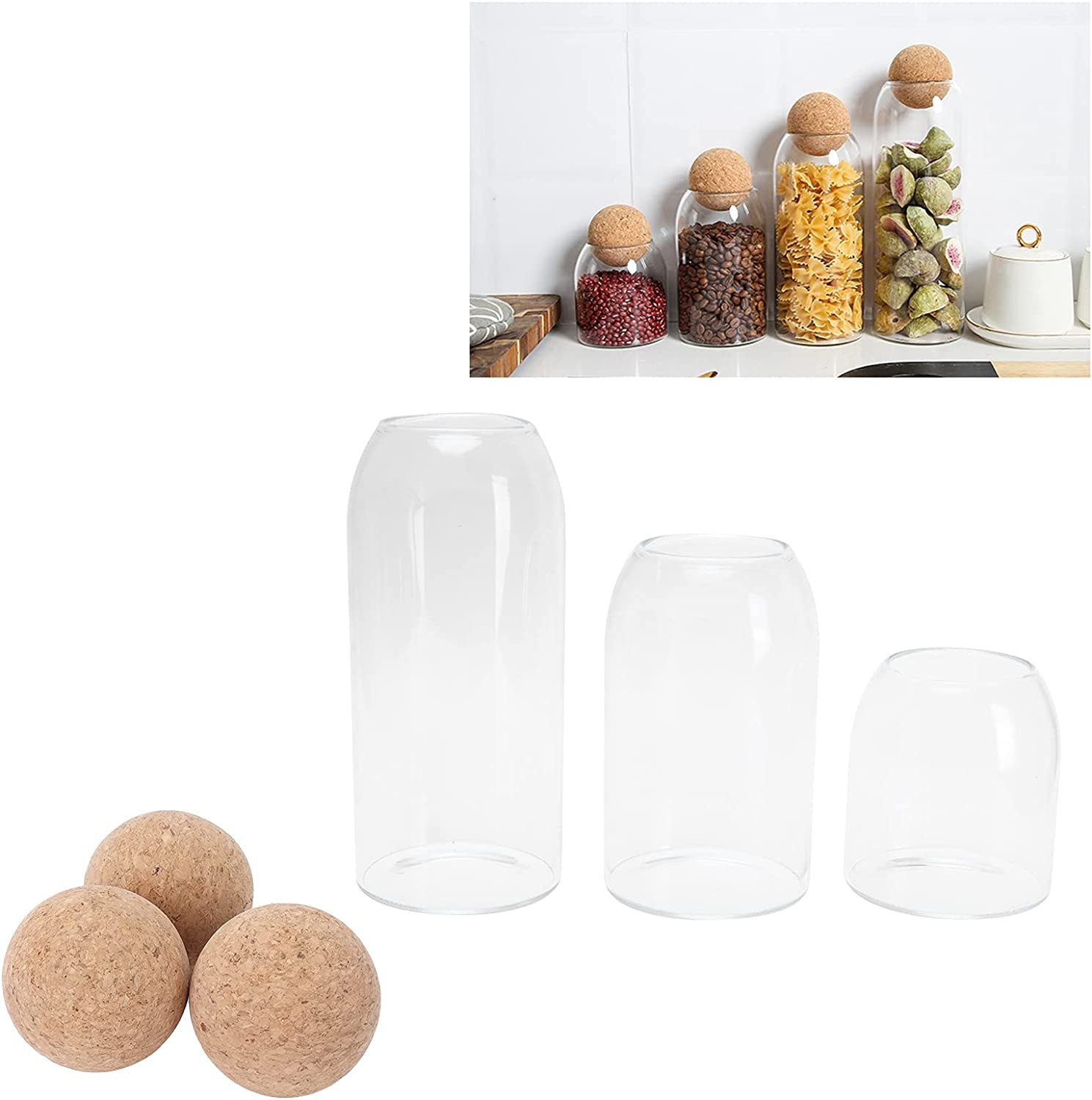 Tea Canisters Storage Containers Max 53% 5 ☆ popular OFF Lightweight L Sealed Round for