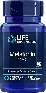 Life Extension Melatonin, 10 mg, Capsules, 60-Count