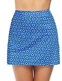iClosam Falda de Golf Falda de Tenis Corta Deportivo para Mujer Moda y Comodo (Azul#3, XL)