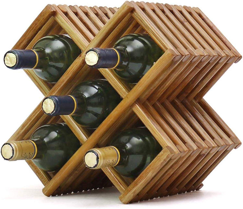 Red Wine Shelf Wine Racks Wine Rack Solid Wood Wine Rack Home Wine Rack Living Room Wine Rack Display Stand 5 Bottles (color   Brown, Size   30  20  30cm)