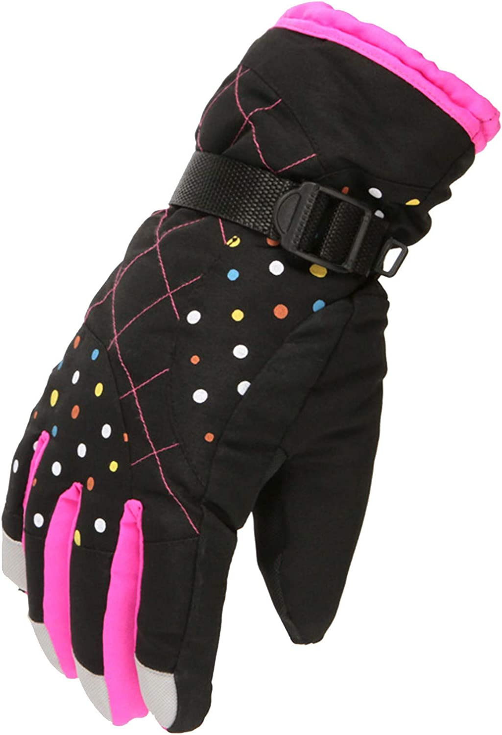 Women's Snow Windproof Warm Cold And Velvet Sports Riding Skating Gloves Fashion/Prom/Warm/Bicycle Gloves