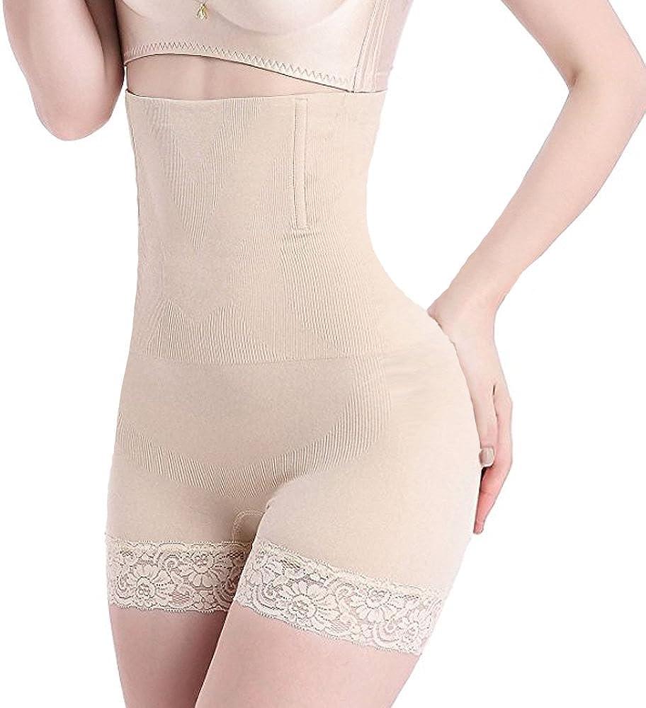 Womens Tummy Control Body Shaper Seamless Thigh High Waist Slimming Boyshort Breathable Slip Shapewear Briefs