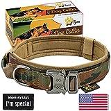Tactical Dog Collar Heavy Duty Dog Collars