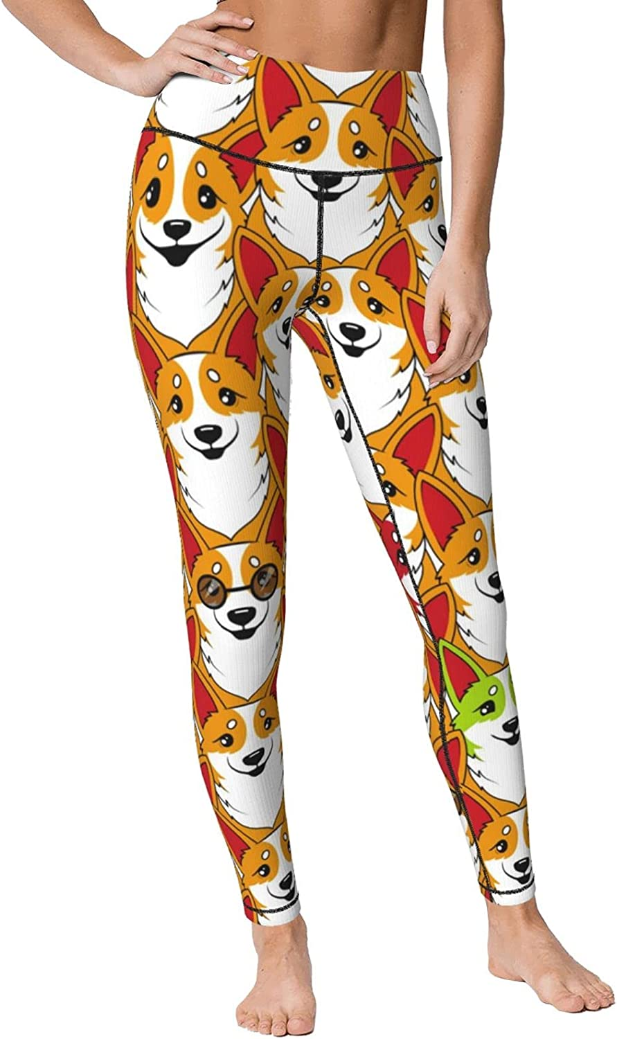 HSXOOW Colored Butterflies and Flowers Pants High Max 74% OFF Women's Boston Mall Yoga W
