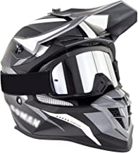 LHP Motorfiets Motocross Helm Volwassen Full Face Helm Set Met Goggles Motorbike Crash Helm DOT/ECE Goedgekeurd Moto Off-R...
