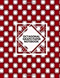Octagonal Graph Paper Notebook: Large essential graph paper worksheet for design, mapping, knitting, gaming, drawing, quilting and sketching, ... Chemists, Students, For Birthday, Christmas,