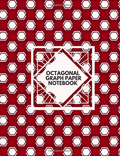 Octagonal Graph Paper Notebook: Large essential graph paper worksheet for...