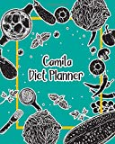 Camila Diet Planner: 99 Weeks Meal Planner Pages 8x10 inches for Diet, Weight Loss, Keto,Low Crab, Calories Program with Your name on Matte Cover