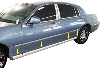 stainless steel body side molding