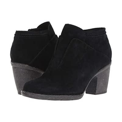 Clarks Carleta York (Black Suede) Women