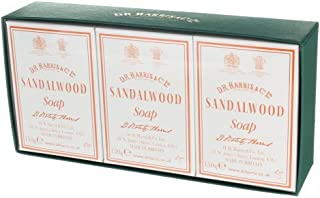 D.R.Harris & Co Sandalwood Triple-Milled Bath Soap Trio 3 x 150g