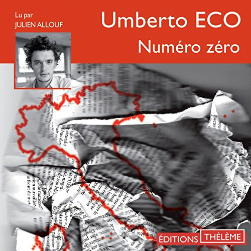 Numéro zéro audiobook cover art