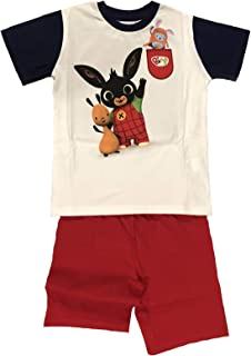 1 2 3 4 5 Anni Estate 2019 Bing Completo T-Shirt con Pantaloncino Coniglietto Mis