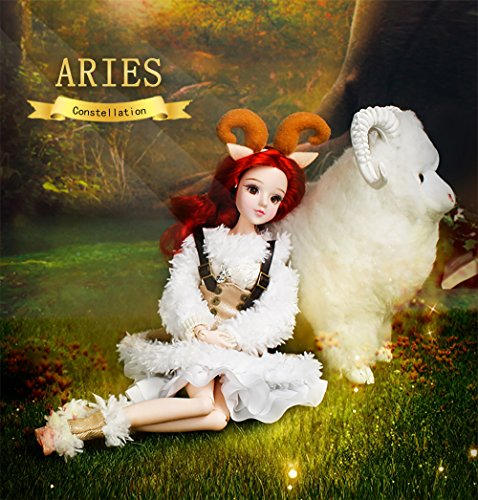 ICY Fortune Days Mystery Magic Girl Fortune Days BJD Doll 12 inch Twelve Constellation Series Doll (Aries)