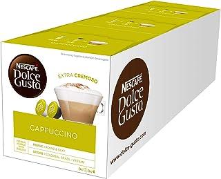 Nescafé Dolce Gusto CAPPUCCINO - 48 Capsules (16 cap x 3)