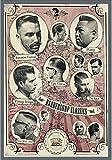 PVC-PLATTE VINTAGE JAHRE '60 AMERICAN ADVERTISING OF HAIR