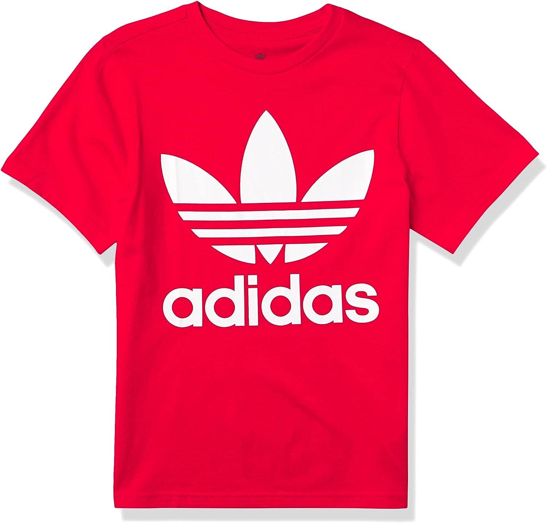 adidas Originals Boys' Youth Trefoil Tee