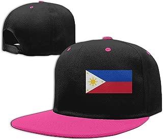 Unisex Philippines Flag Baseball Hat Classic Cotton Snapback Cap