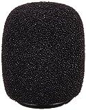 Shure RK183WS Black Snap-Fit Foam Windscreens for MX183 MX184 MX185 Beta 98 WL183 WL184 & WL185 (4)