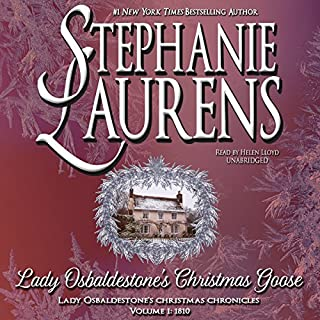Lady Osbaldestone's Christmas Goose audiobook cover art