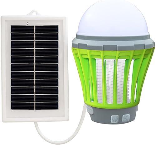 DSADDSD  électrique Tueur de Moustique Portable Camping Ampoule USB Charge LED Mosquito Tueur Lampe Imperméable Répulsif Insecte des Moustiques Mosquito Tueur