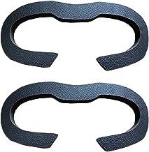 KT-CASE Eye Mask for Oculus Rift S VR,Replacement Leather Sponge Face Cushion Sweatproof (2PCS)